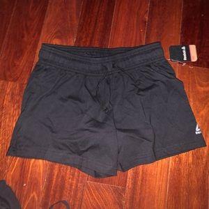 BRAND NEW W TAGS Reebok Women's Black Shorts